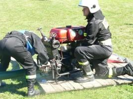 Drużyny z OSP Witanowice zdominowały zawody pożarnicze