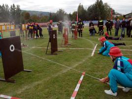 Na podium w VII Powiatowych Zawodach Sportowo-Pożarnych