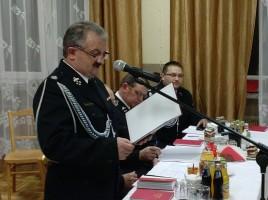 Zebranie sprawozdawcze Zarządu Gminnego Związku OSP RP