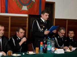 Zebranie sprawozdawcze w OSP Tomice