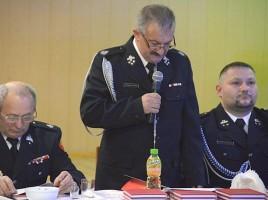 Zebranie sprawozdawcze Zarządu Oddziału Gminnego Związku OSP RP