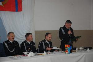 Zebranie sprawozdawcze OSP Woźniki