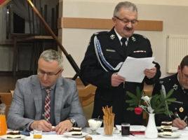 Zarząd Oddziału Gminnego OSP w Tomicach podsumował 2018 rok
