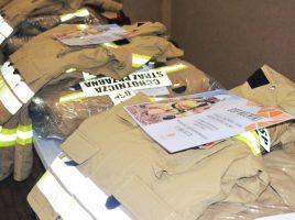 Nowe typy ubrań na wyposażeniu straży